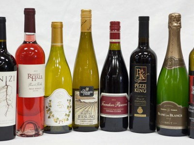 2015 Sweepstake Award-winning Wines