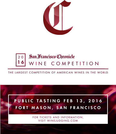 2016 San Francisco Chronicle Wine Competition Printable Event Poster