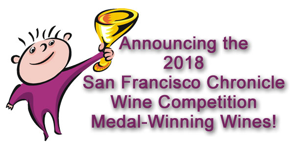 Announcing the 2018 San Francisco Chronicle Wine Competition Sweepstake winners
