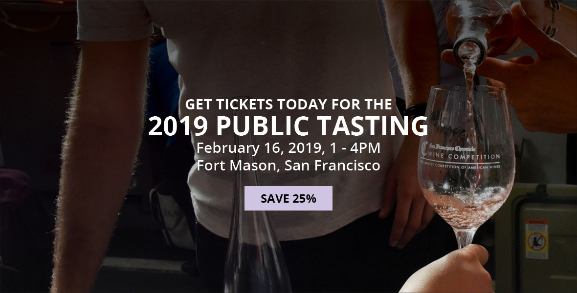 2019 San Francisco Chronicle Wine Competition Public Tasting