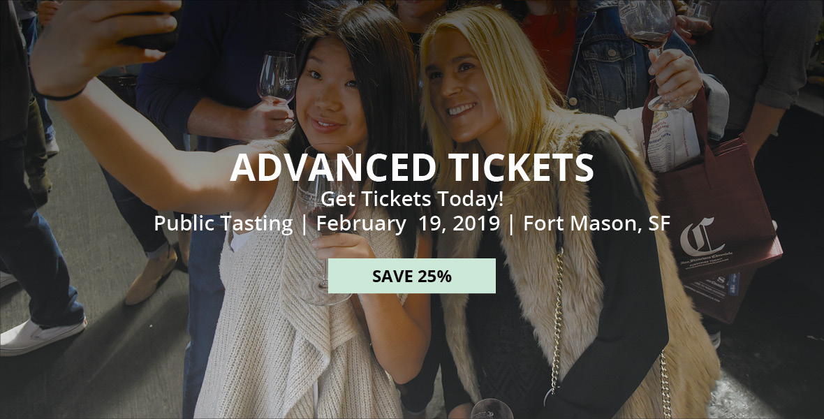 Advanced Tickets to the Public Tasting