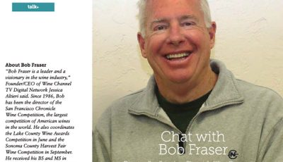 Sonoma Discoveries Magazine Interviews Bob Fraser about the SFCWC